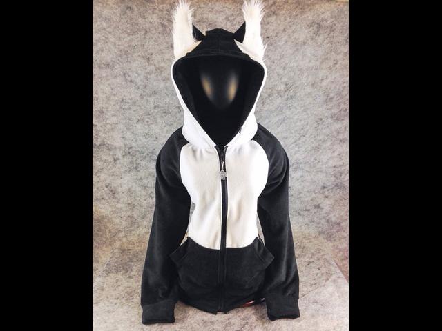 bc8f844de5 PAWSTAR Siberian Husky Jacket Hoodie with Ears on Hood in Waxahachie ...